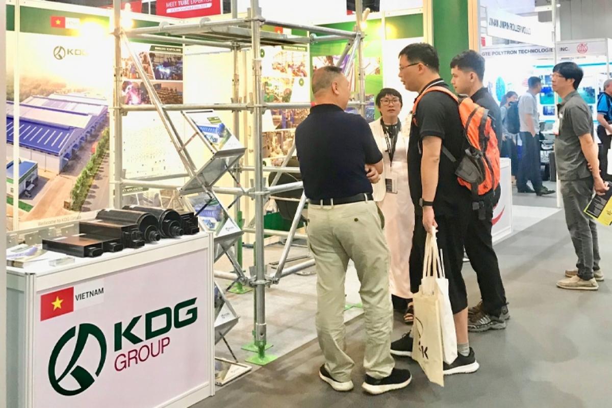 Hoạt động xúc tiến thương mại của KDG tại Triển lãm Bangkok, Thái Lan
